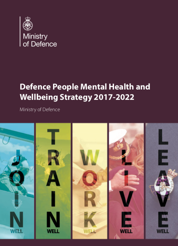 UK Defence Mental Health and Wellbeing Strategy